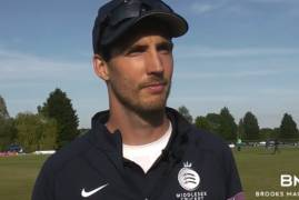 STEVEN FINN REFLECTS ON THE ONE-DAY CUP LOSS TO ESSEX