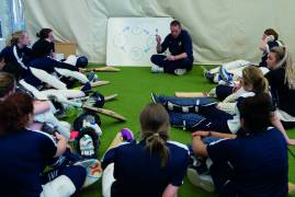 Women's Performance Academy winter programme up and running