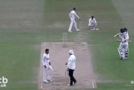 LEICESTERSHIRE V MIDDLESEX - DAY FOUR MATCH ACTION