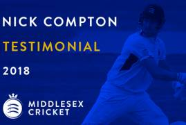 NICK COMPTON AWARDED TESTIMONIAL YEAR IN 2018