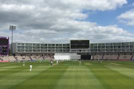 Hampshire v Middlesex: Day 1 Tea Update