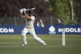 MAX HOLDEN SIGNS EXTENDED CONTRACT WITH MIDDLESEX CRICKET
