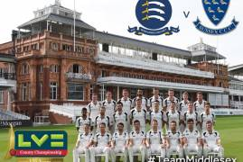 Middlesex v Sussex: Day Two match updates