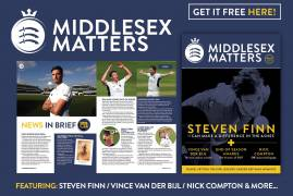 MIDDLESEX MATTERS END OF SEASON ISSUE OUT NOW!