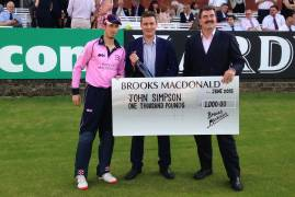 Player of the Month for June: John Simpson