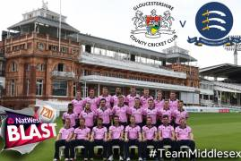 Gloucestershire v Middlesex: Watch & Listen