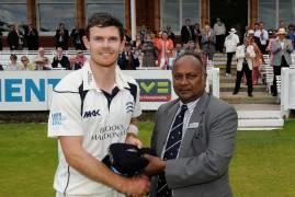 James Harris awarded County Cap