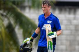 GUBBINS CENTURY HELPS THE SOUTH SECURE SERIES OPENING VICTORY