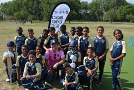 AB DE VILLIERS OPENS NEW NON-TURF PITCH AT DEPTFORD PARK WITH LCT