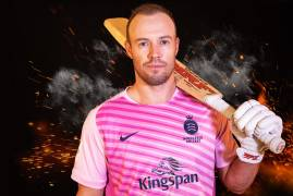 MIDDLESEX SIGN AB DE VILLIERS FOR 2019 VITALITY BLAST