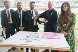 MIDDLESEX LAUNCHES PARTNERSHIP WITH AFGHAN CRICKET ASSOCIATION UK