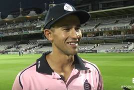 ASHTON AGAR'S POST MATCH INTERVIEW AFTER HAMPSHIRE VICTORY