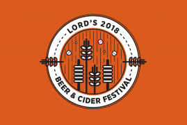 BEER & CIDER FESTIVAL AT LORD'S AT SUSSEX CHAMPIONSHIP MATCH