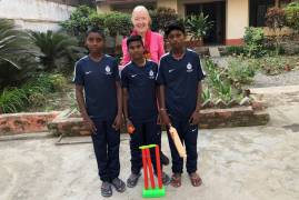 MIDDLESEX KIT DONATION SUPPORTS YOUNGSTERS IN BIHAR, EASTERN INDIA