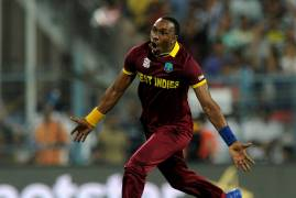 DWAYNE BRAVO SIGNS FOR MIDDLESEX