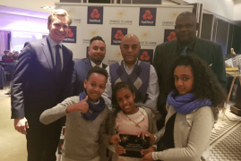 ISLINGTON CHANCE TO SHINE YOUTH PROJECT WINS NATIONAL AWARD