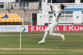 IMAGES FROM DAY THREE VS LEICESTERSHIRE