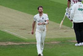 JAMES HARRIS REFLECTS ON DAY ONE AGAINST NORTHANTS