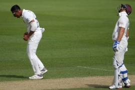 DAY TWO MATCH ACTION - SURREY V MIDDLESEX, BOB WILLIS TROPHY