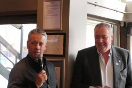 STUART LAW MEMBERS' LUNCH A HUGE SUCCESS AT LORD'S