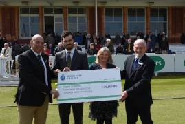FELIX PROJECT PRESENTED WITH FUNDRAISING CHEQUE TODAY
