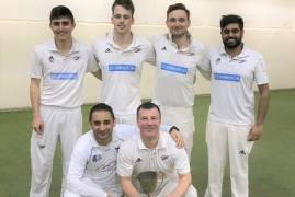 FINCHLEY CROWNED MIDDLESEX INDOOR CRICKET TROPHY CHAMPIONS