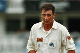 ANGUS FRASER SELECTS DREAM MIDDLESEX ASHES XI