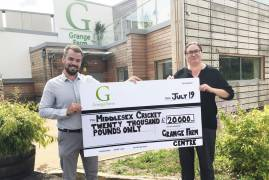 MIDDLESEX AND GRANGE FARM CENTRE TRUST JOIN FORCES FOR EXCITING INITIATIVE