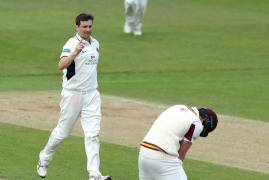 DAY ONE SPECSAVERS COUNTY CHAMPIONSHIP MATCH ACTION VS NORTHAMPTONSHIRE