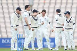 MATCH ACTION | DAY TWO | HAMPSHIRE V MIDDLESEX