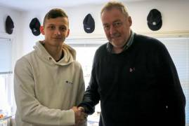 YOUNG ALL-ROUNDER LUKE HOLLMAN SIGNS TWO YEAR CONTRACT