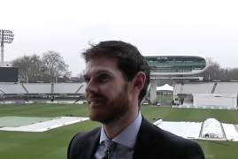 JAMES HARRIS DAY TWO INTERVIEW VS NORTHANTS AT LORD'S