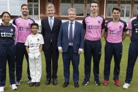 KNIGHT FRANK UNVEILED AS NEW MAJOR SPONSOR OF MIDDLESEX
