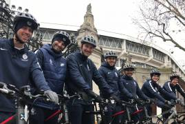 SQUAD TAKE TO TWO WHEELS FOR WINTER TRAINING