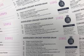 MIDDLESEX CHRISTMAS RAFFLE WINNERS ANNOUNCED