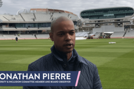 JONATHAN PIERRE TALK US THROUGH THE CLUB'S DIVERSITY & INCLUSION PLAN