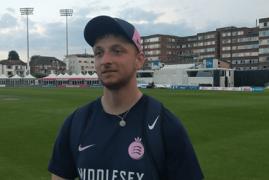 CLOSE OF PLAY INTERVIEW | LUKE HOLLMAN