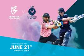 MIDDLESEX AND LEINSTER LIGHTNING TO PLAY HISTORIC MATCH IN DUBLIN
