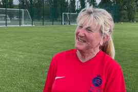 MARILYN SMITH TALKS ABOUT WOMEN'S CRICKET MONTH IN JUNE 2021