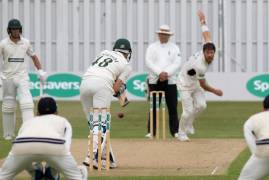 IMAGES FROM DAY ONE VS LEICESTERSHIRE