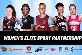 WOMEN'S ELITE SPORT PARTNERSHIP LAUNCHED TODAY!