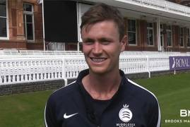 INTERVIEW WITH NICK GUBBINS - MAY BROOKS MACDONALD PLAYER OF THE MONTH