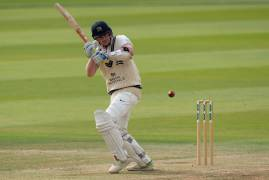 ROBSON CARRIES BAT AFTER BRILLIANT CENTURY | GLAMORGAN v MIDDLESEX | DAY THREE INTERVIEW
