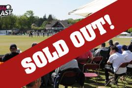 VITALITY BLAST MATCH VS GLOUCESTERSHIRE AT RADLETT NOW SOLD OUT!