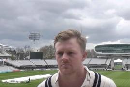 SAM ROBSON REVIEWS THE VICTORY OVER NORTHANTS