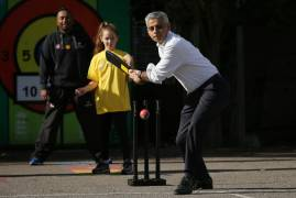 MAYOR OF LONDON VISITS GRAFTON PRIMARY SCHOOL WITH CHANCE 2 SHINE