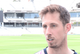 CLOSE OF PLAY INTERVIEW | JOHN SIMPSON