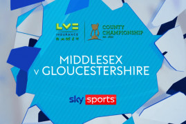 MIDDLESEX HONOURED THAT LIVE STREAM WAS BROADCAST ON SKY CRICKET