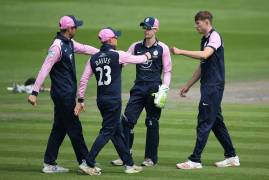 ROYAL LONDON CUP MATCH ACTION | SUSSEX SHARKS V MIDDLESEX