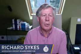 MIDDLESEX BOARD DIRECTOR INTERVIEW - RICHARD SYKES